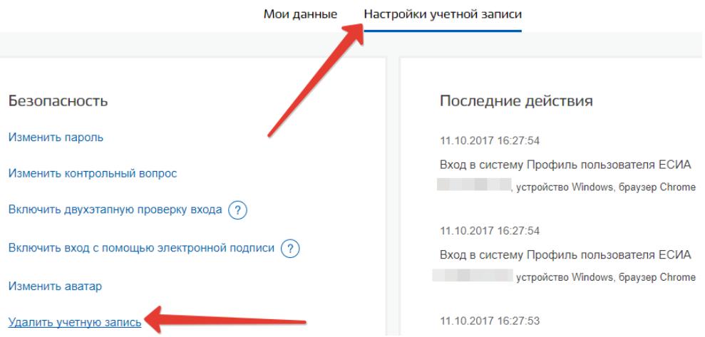 Процедура удаления страницы по СНИЛС
